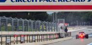 El circuito Paul Ricard durante un test Pirelli - SoyMotor.com