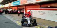 Alfa Romeo presenta su coche 2019 en el Circuit de Barcelona-Catalunya - SoyMotor.com