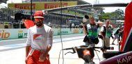 Fernando Alonso en el Gran Premio de Brasil F1 2014 - LaF1