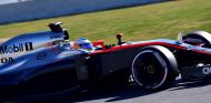 Fernando Alonso, ayer en Montmeló - LaF1