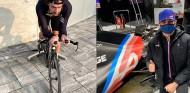 Alonso, de vuelta a la bici; Ocon, de test con el Renault RS18 - SoyMotor.com