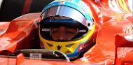Fernando Alonso en su F14 T - LaF1