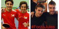 Jules Bianchi y Fernando Alonso - LaF1