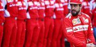 Fernando Alonso con Ferrari en Abu Dabi 2014 - LaF1.es