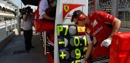 Pit-Wall de Ferrari en Brasil - LaF1