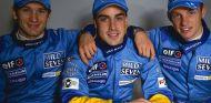 Trulli, Alonso y Button juntos en Renault