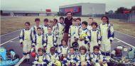 La foto de familia del Campus de Karting Fernando Alonso - LaF1