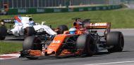 Rompe el motor de Alonso en la última vuelta del GP de Canadá - SoyMotor.com