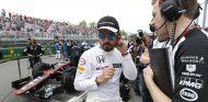 Fernando Alonso en la parrilla del GP de Canadá - LaF1