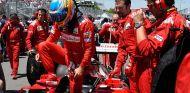 Fernando Alonso en la parrilla de salida de Canadá - LaF1