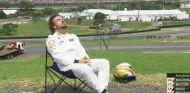 Alonso tan solo completa media vuelta en clasificación - LaF1
