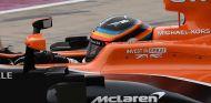 Alonso durante el GP de Estados Unidos - SoyMotor.com