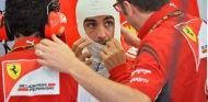 Fernando Alonso y Stefano Domenicali en Sakhir - SoyMotor.com