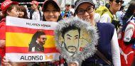 Fans de Fernando Alonso en Suzuka - SoyMotor.com