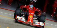 Fernando Alonso durante la clasificación de Gran Bretaña - LaF1
