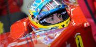 Fernando Alonso en los test de Jerez
