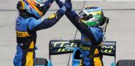 Fernando Alonso y Giancarlo Fisichella en Sepang - SoyMotor.com