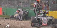 Fernando Alonso y Esteban Gutiérrez en Australia - LaF1