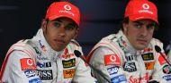 Alonso reconoce que Hamilton ha sido su rival más duro - LaF1