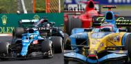 Alonso 'enseña' a pilotar al rey de Hungaroring - SoyMotor.com