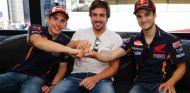 Fernando Alonso en Mugello con Marc Márquez y Dani Pedrosa - LaF1