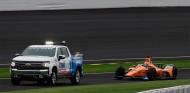 Fernando Alonso en el momento de su avería en Indianápolis - SoyMotor