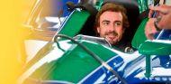 Fernando Alonso en su test –SoyMotor.com