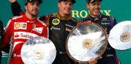 Alonso, Räikkönen y Vettel en el podio de Australia - LaF1