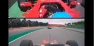 Leclerc, como Alonso: adelanta a un Mercedes en el mismo momento y lugar - SoyMotor.com