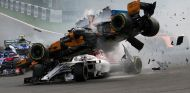Accidente de Leclerc en Spa - SoyMotor.com