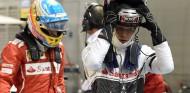 Fernando Alonso y Kevin Magnussen en Marina Bay - SoyMotor.com