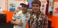 Marc Márquez junto a Fernando Alonso - LaF1