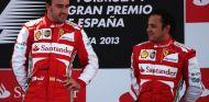 Alonso y Massa en el podio del GP de España de 2013 - SoyMotor