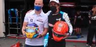 Nikita Mazepin y Fernando Alonso en Francia - SoyMotor.com