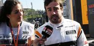Fernando Alonso tras la avería de los Libres 1 - SoyMotor