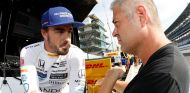 Alonso y Gil de Ferran en Indianápolis - SoyMotor.com