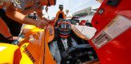 Fernando Alonso en la clasificación de las 500 Millas de Indianápolis - SoyMotor.com