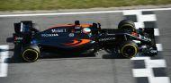 Fernando Alonso, hoy en Barcelona - LaF1