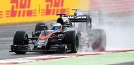 Fernando Alonso durante el Gran Premio de Gran Bretaña - LaF1