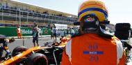 Alonso, durante el GP de Italia - SoyMotor.com