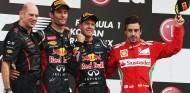 Podio del GP de Corea de 2012 - SoyMotor