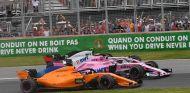 Fernando Alonso y Sergio Pérez en Montreal - SoyMotor.com