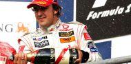 Fernando Alonso en Spa-Francorchamps - SoyMotor.com