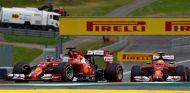 Fernando Alonso y Kimi Räikkönen en Austria - LaF1
