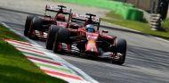 Fernando Alonso y Kimi Räikkönen en Monza - LaF1