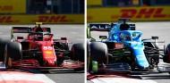 Sainz y Alonso, perjudicados por las banderas rojas en Bakú - SoyMotor.com