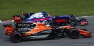Fernando Alonso y Carlos Sainz en el GP de Canadá - SoyMotor