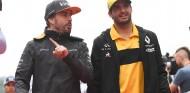 Fernando Alonso y Carlos Sainz en Sochi - SoyMotor.com