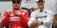 Rosberg se acuerda de Schumacher con la adaptación de Alonso - SoyMotor.com
