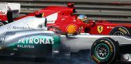 Fernando Alonso siempre ha mostrado un gran respeto por Michael Schumacher - LaF1